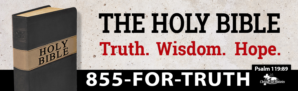 They Holy Bible Truth. Wisdom. Hope.