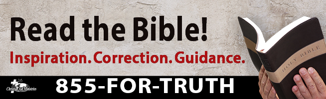 Read the Bible! Inspiration. Correction. Guidance.