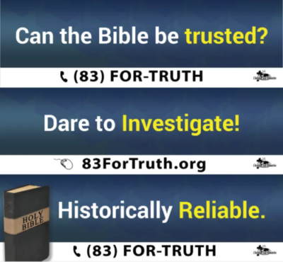 Do you believe the Bible?