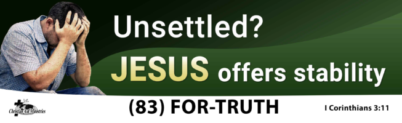 Are You Unsettled?